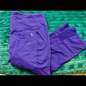 Athletic cropped leggings